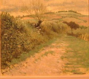 Oil by Bennett Oates. Westcliffe Gallery, Sheringham