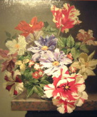 Still Life Flowers by Bennett Oates at The Westcliffe Gallery, Sheringham