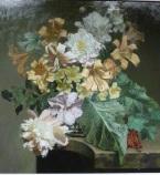 Still Life Flowers by Bennett Oates at The Westcliffe Gallery, Sheringham