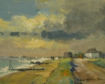 Burnham Norton by Ian Houston at The Westcliffe Gallery, Sheringham
