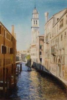 Oil by Ken Bizon, Westcliffe Gallery Sheringham
