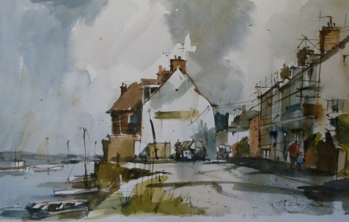 Watercolour by John Hoar Westcliffe Gallery Sheringham