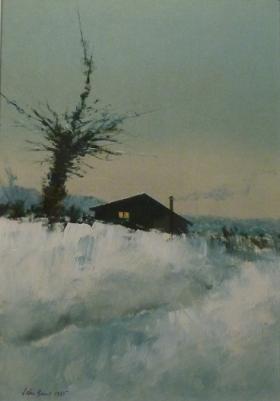 Oil by John Bond, Westcliffe Gallery Sheringham