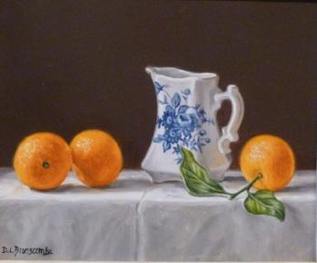 Still Life by Dianne Branscombe, Westcliffe Gallery Sheringham.