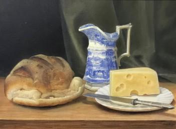 Oil by Edna Bizon. Westcliffe Gallery, Sheringham