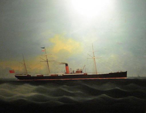 Glencoe Shipping Oil circa 1900